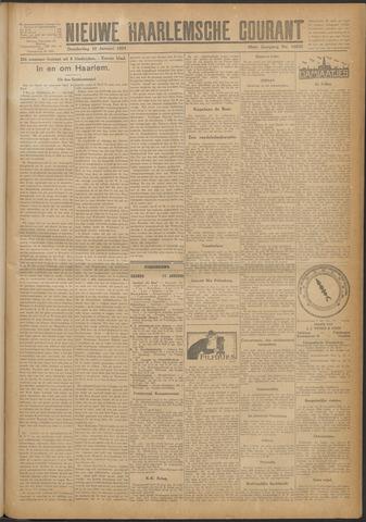 Nieuwe Haarlemsche Courant 1924-01-10