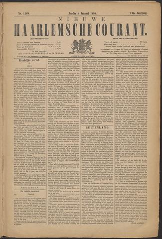 Nieuwe Haarlemsche Courant 1888-01-08