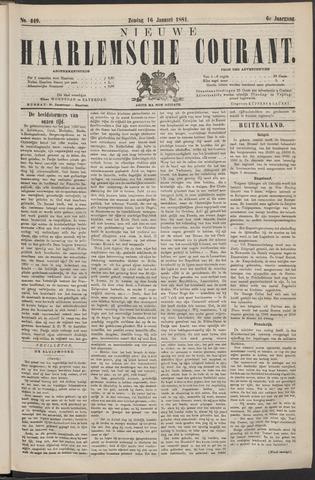 Nieuwe Haarlemsche Courant 1881-01-16