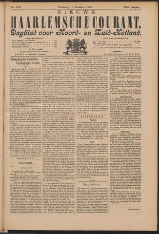 Nieuwe Haarlemsche Courant 1898-11-10