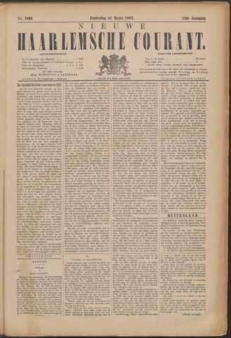Nieuwe Haarlemsche Courant 1887-03-31