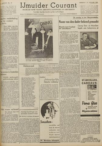 IJmuider Courant 1939-11-22