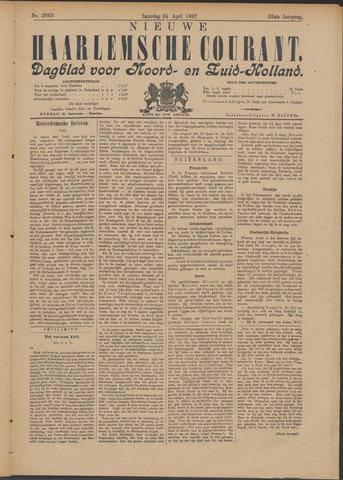 Nieuwe Haarlemsche Courant 1897-04-24