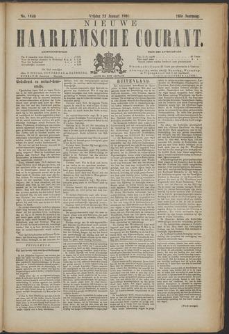 Nieuwe Haarlemsche Courant 1891-01-23