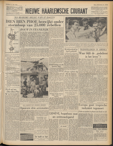 Nieuwe Haarlemsche Courant 1954-05-08