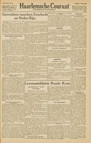 Haarlemsche Courant 1945-04-03