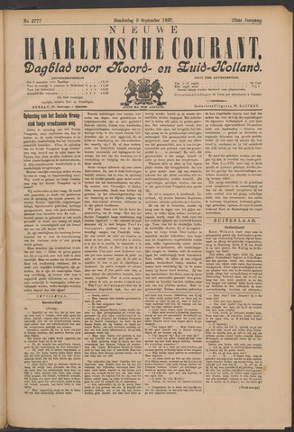 Nieuwe Haarlemsche Courant 1897-09-09