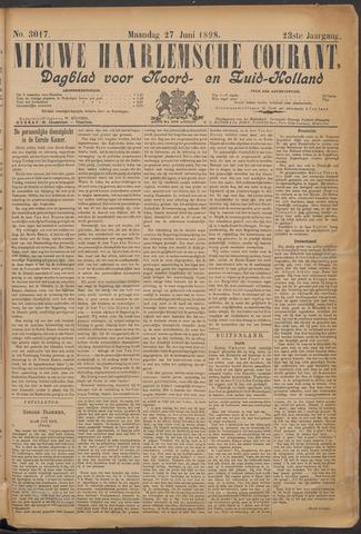 Nieuwe Haarlemsche Courant 1898-06-27