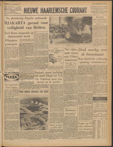 Nieuwe Haarlemsche Courant 1963-09-19