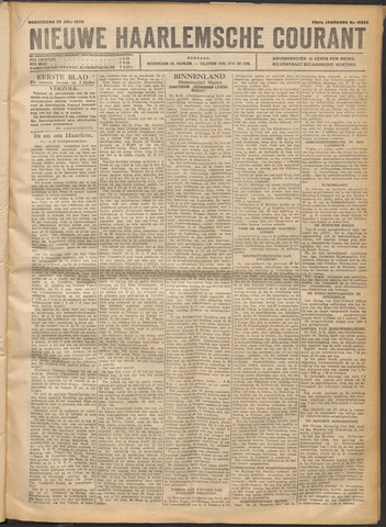 Nieuwe Haarlemsche Courant 1920-07-29