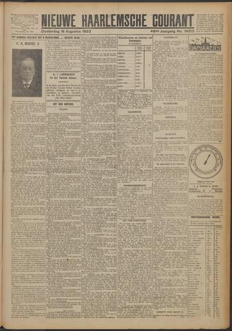 Nieuwe Haarlemsche Courant 1923-08-16