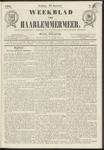 Weekblad van Haarlemmermeer 1862-01-24