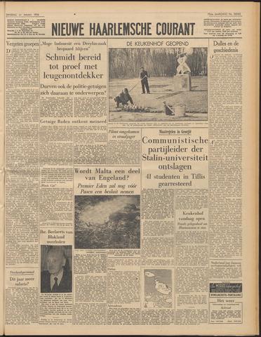 Nieuwe Haarlemsche Courant 1956-03-27