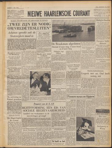 Nieuwe Haarlemsche Courant 1952-07-01
