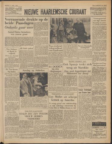 Nieuwe Haarlemsche Courant 1956-04-03
