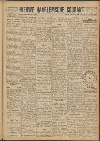 Nieuwe Haarlemsche Courant 1923-06-14