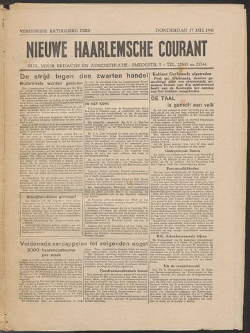 Nieuwe Haarlemsche Courant 1945-05-17