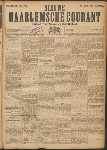 Nieuwe Haarlemsche Courant 1906-09-11