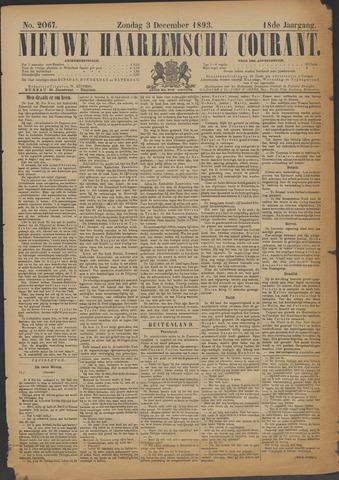 Nieuwe Haarlemsche Courant 1893-12-03