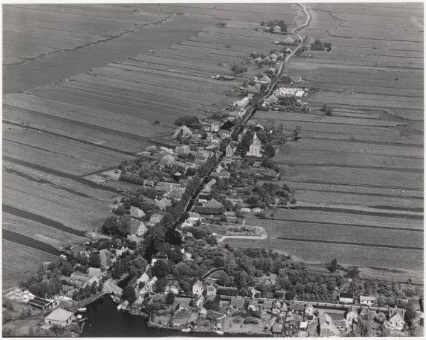 Luchtfoto Jisp, gemeente Wormerland.