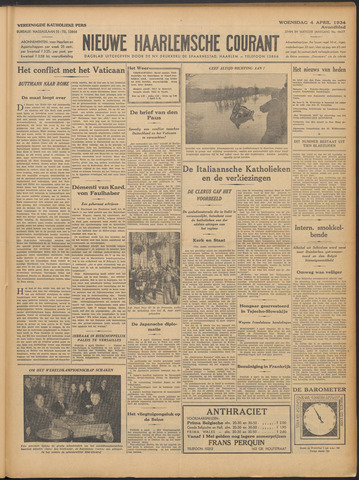 Nieuwe Haarlemsche Courant 1934-04-04