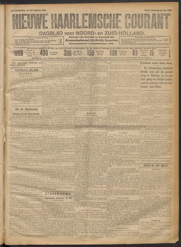 Nieuwe Haarlemsche Courant 1911-10-19