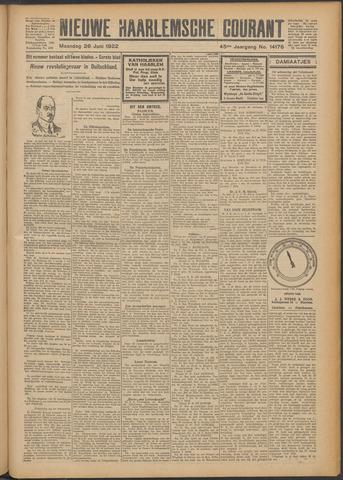 Nieuwe Haarlemsche Courant 1922-06-26
