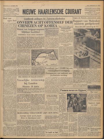Nieuwe Haarlemsche Courant 1952-10-08