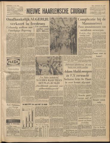 Nieuwe Haarlemsche Courant 1962-07-04