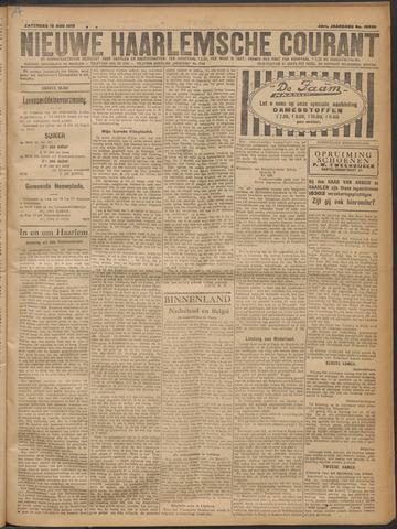 Nieuwe Haarlemsche Courant 1919-08-16
