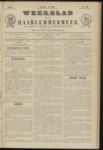 Weekblad van Haarlemmermeer 1884-05-16