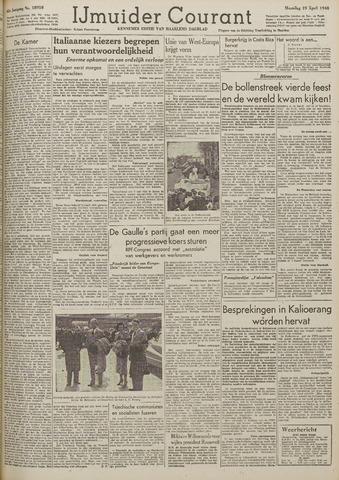 IJmuider Courant 1948-04-19