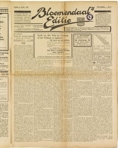 Bloemendaal's Editie 1929-01-05