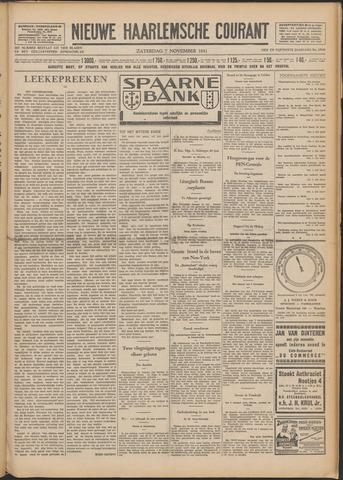 Nieuwe Haarlemsche Courant 1931-11-07