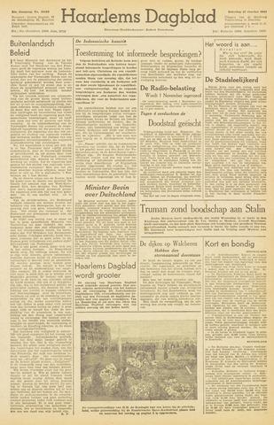 Haarlem's Dagblad 1945-10-27