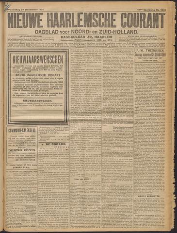 Nieuwe Haarlemsche Courant 1916-12-27