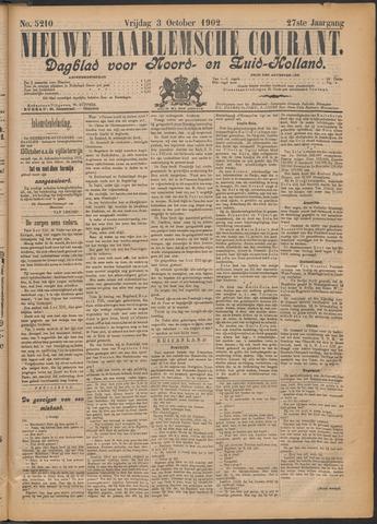 Nieuwe Haarlemsche Courant 1902-10-03