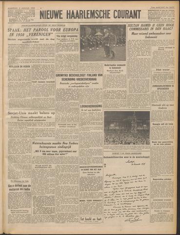 Nieuwe Haarlemsche Courant 1950