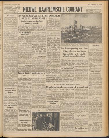 Nieuwe Haarlemsche Courant 1950-08-16