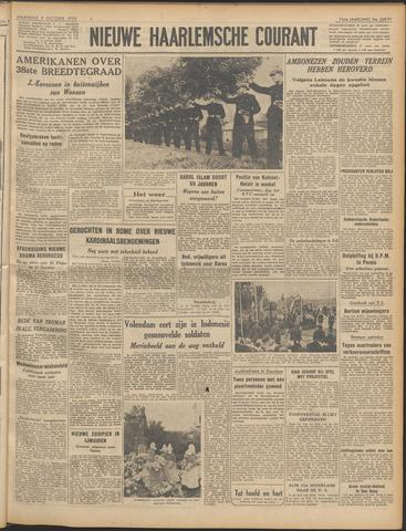 Nieuwe Haarlemsche Courant 1950-10-09