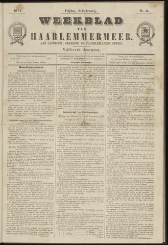 Weekblad van Haarlemmermeer 1874-02-06