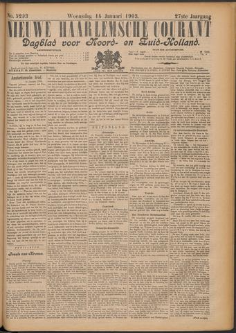 Nieuwe Haarlemsche Courant 1903-01-14