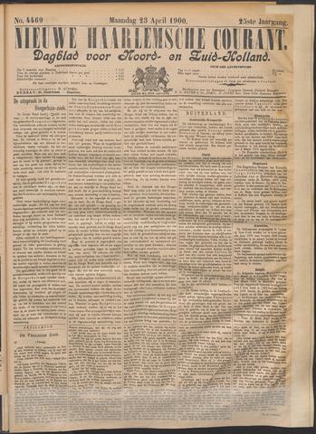 Nieuwe Haarlemsche Courant 1900-04-23