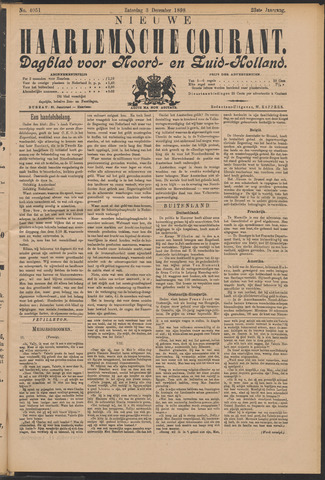 Nieuwe Haarlemsche Courant 1898-12-03