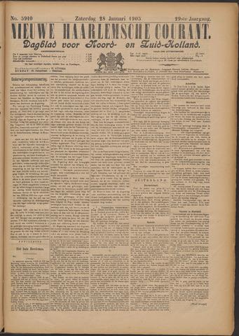 Nieuwe Haarlemsche Courant 1905-01-28