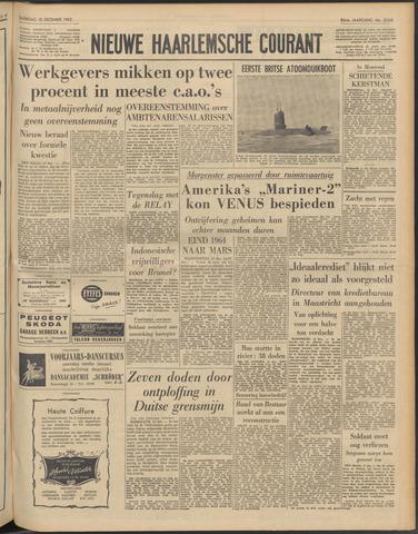 Nieuwe Haarlemsche Courant 1962-12-15