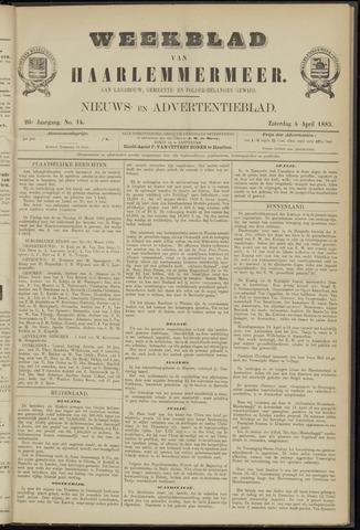 Weekblad van Haarlemmermeer 1885-04-04