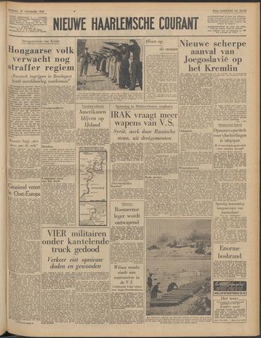 Nieuwe Haarlemsche Courant 1956-11-27