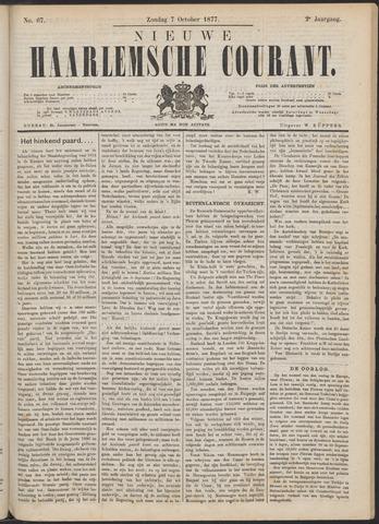 Nieuwe Haarlemsche Courant 1877-10-07