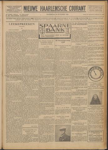 Nieuwe Haarlemsche Courant 1928-10-20